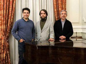 Diego, Johann y Julio Alexis