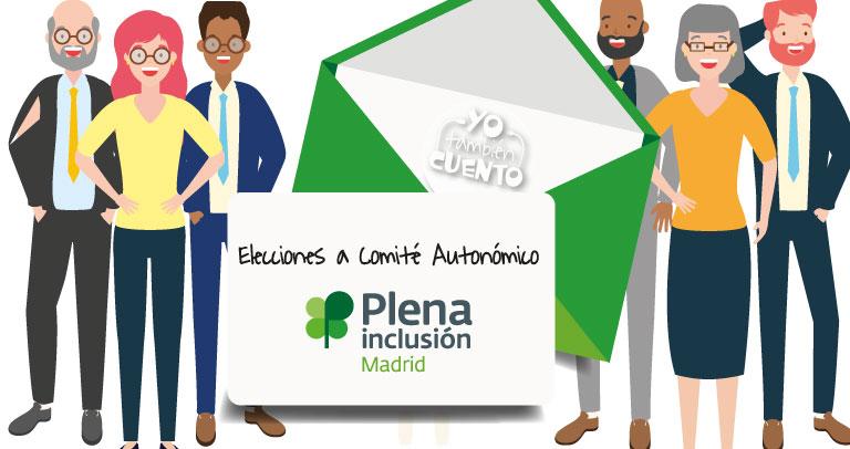 Elecciones a Comité Autonómico de Representantes Plena Inclusión Madrid (MODIFICACIÓN DE FECHAS)