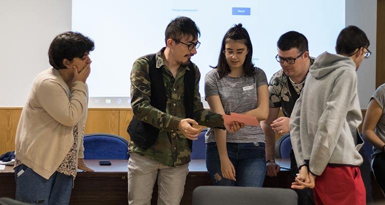 Participantes del proyecto 'Discapacidad intelectual, una cuestión de derecho'