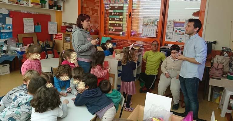 Acción de accesibilidad cognitiva en un colegio