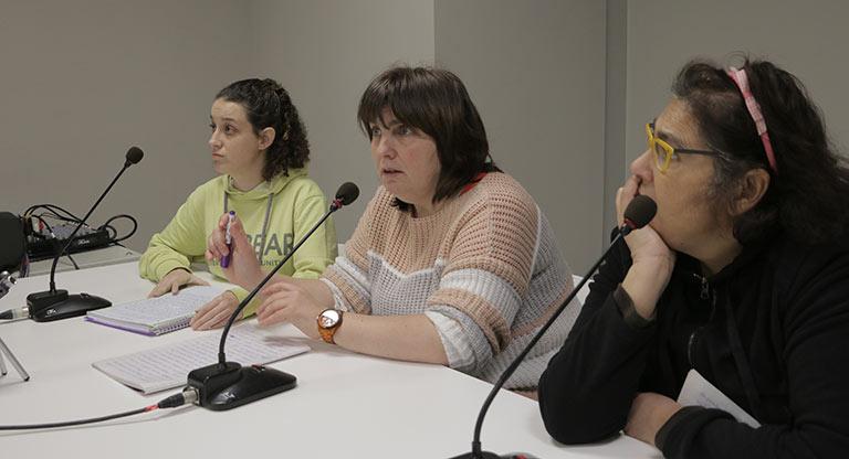 Una imagen del taller Lugares Comunes
