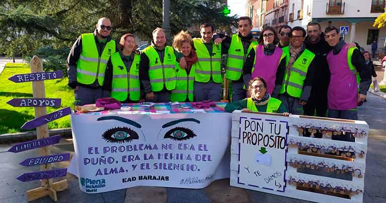 El EAD de Barajas celebra el 25N