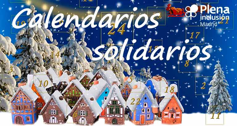 Calendario solidarios de Navidad