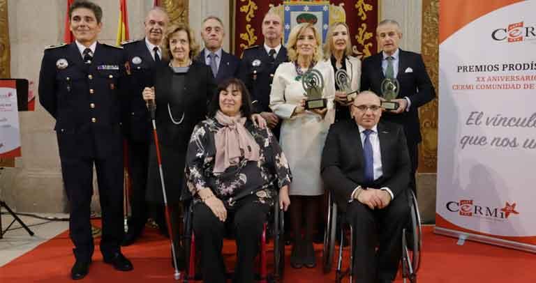 Cermi Comunidad de Madrid entrega los 'Premios Prodis XX Aniversario'