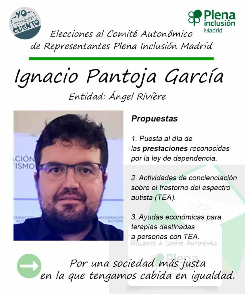 Cartel electoral de Ignacio Pantoja