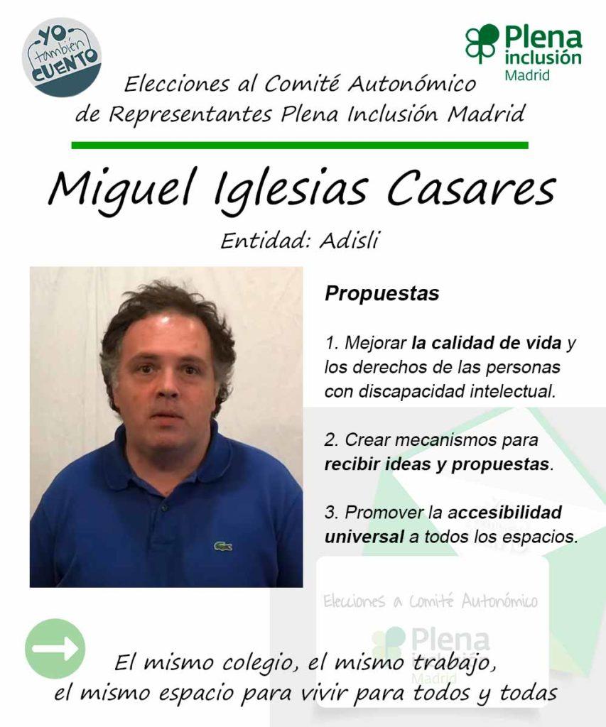 Cartel electoral de Miguel Iglesias