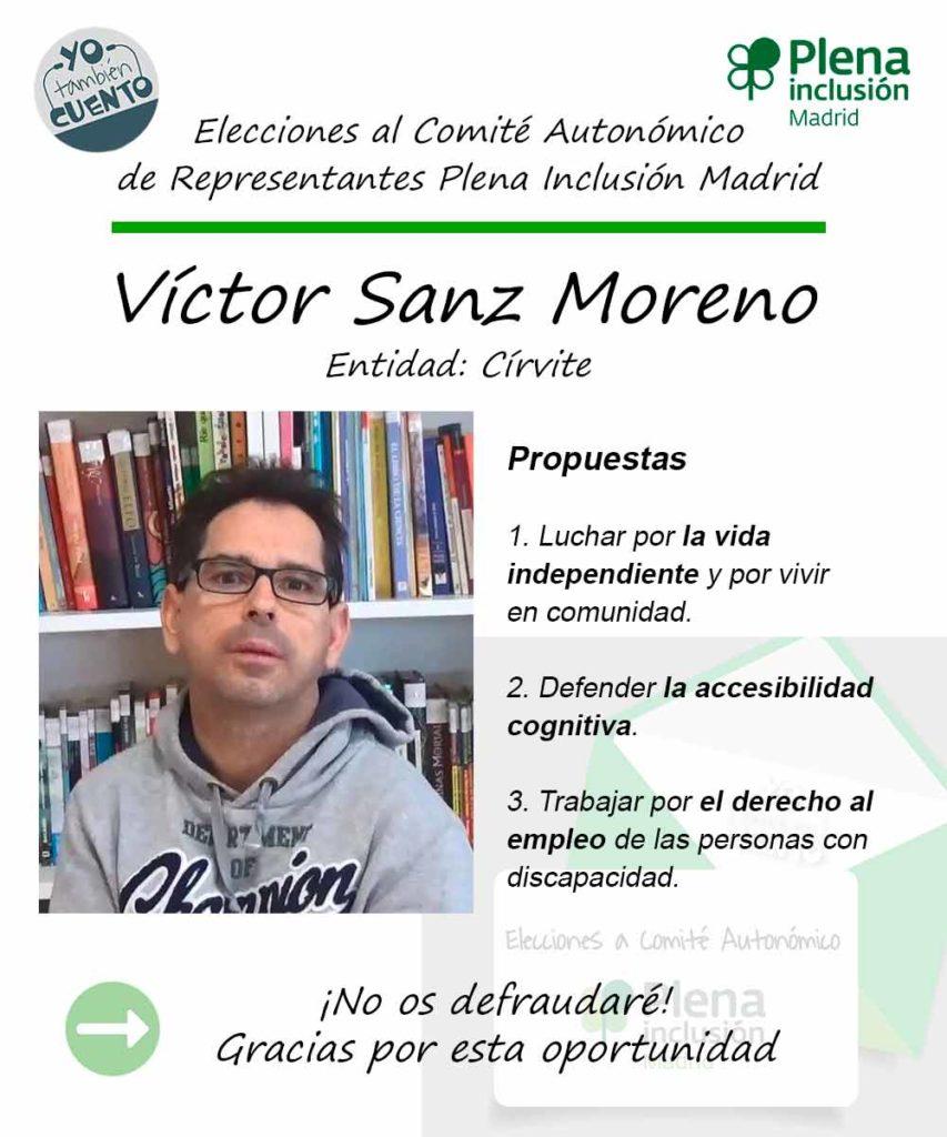 Cartel de Víctor Sanz, de Círvite