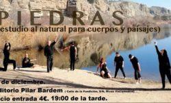 Cartel de la obra de danza inclusiva Piedras