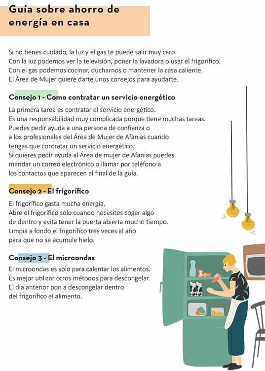 Guía sobre ahorro energético