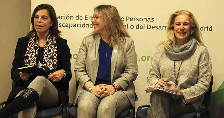 Silvia Sánchez, Pilar López y Carmen Rodríguez