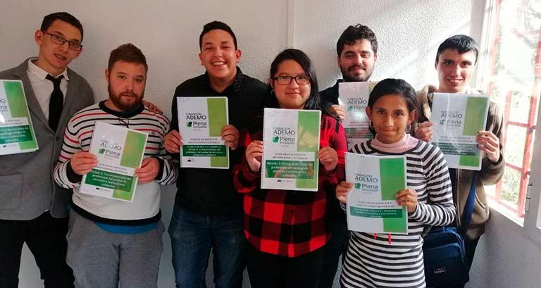 Alumnos del curso auxiliar servicios instituciones culturales