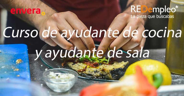Curso de ayudante de cocina de Envera