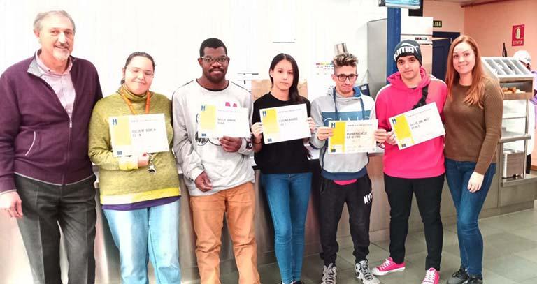 Las personas participantes en el proyecto ComPas