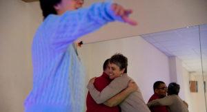Imagen de una de las sesiones de Corriente