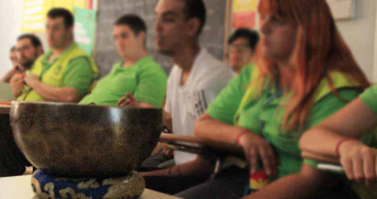 sesión de formación mindfulness