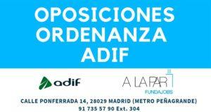 Oposiciones Adif para ordenanza-portero