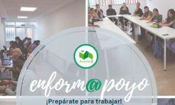 Cartel de Enform@poyo, formación de Avante 3