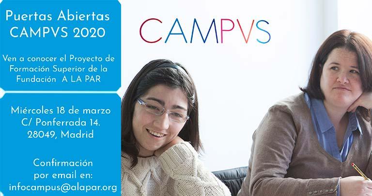 Jornada de puertas abiertas en Campvs