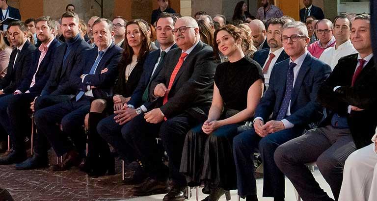 Mariano Casado, en la Gala Valores de Femaddi