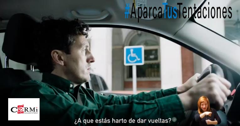 Campaña sobre aparcamiento para personas con discapacidad