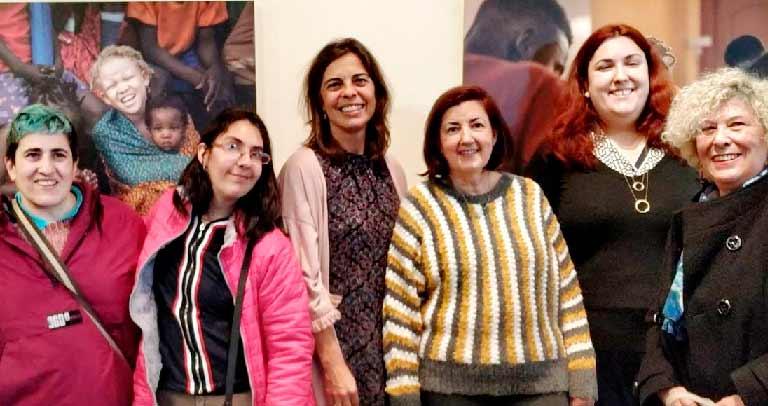 Representantes Madrid en la lectura del Manifiesto del CERMI