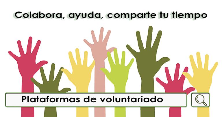 Plataformas de voluntariado durante la crisis del coronavirus
