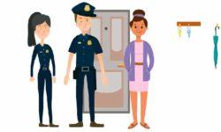 a tu lado. policía nacional y plena inclusiòn madrid