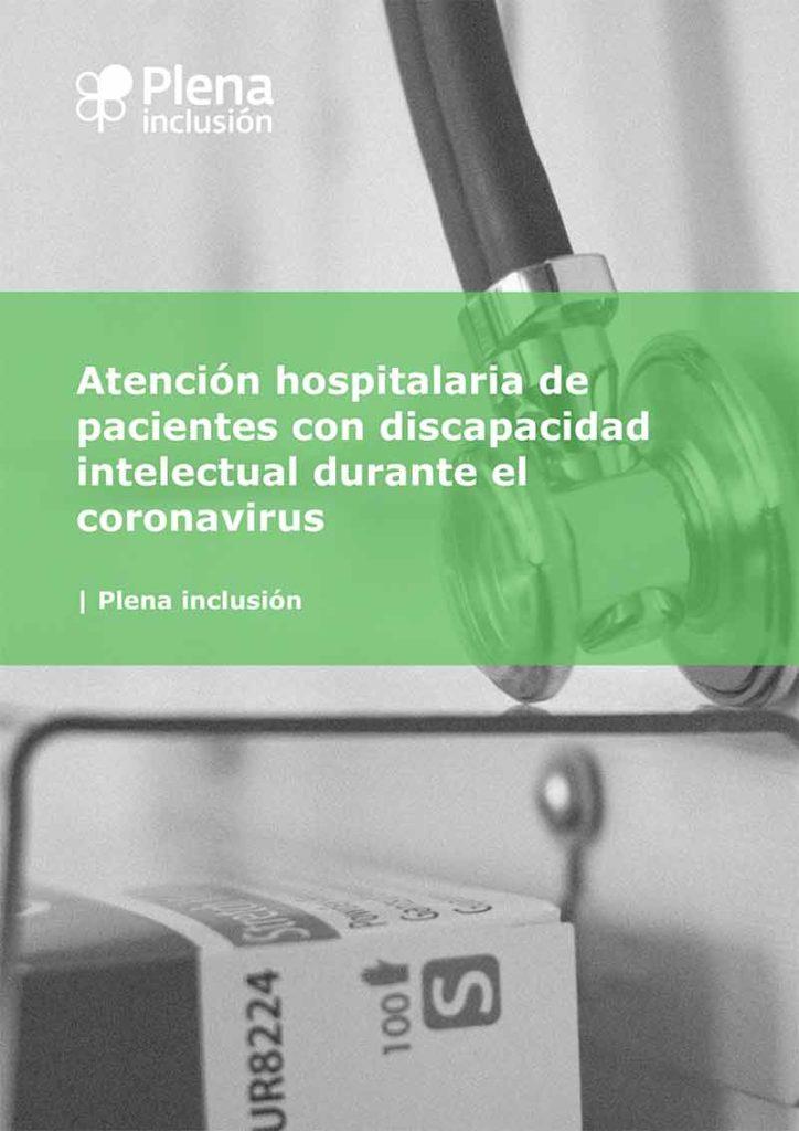 Guía para la atención hospitalaria de pacientes con discapacidad intelectual durante el coronavirus
