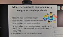 Encuentro sobre herramientas online de videollamada