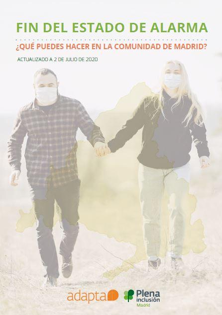 Fin del estado de alarma. ¿Qué puedes hacer en la Comunidad de Madrid? ¡Actualizado a 2 de julio!