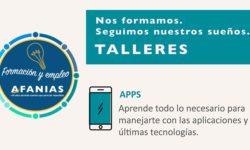 Taller de aplicaciones móviles de Afanias