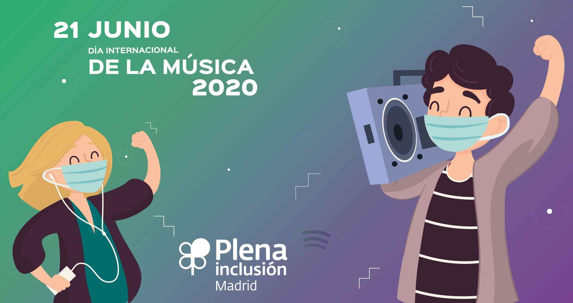 Cartel del Día de la Música 2020