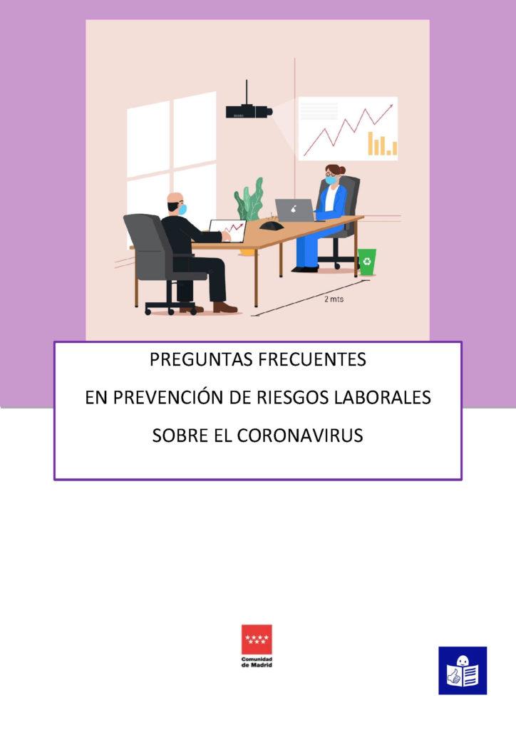 Información sobre riesgos laborales y coronavirus en lectura fácil