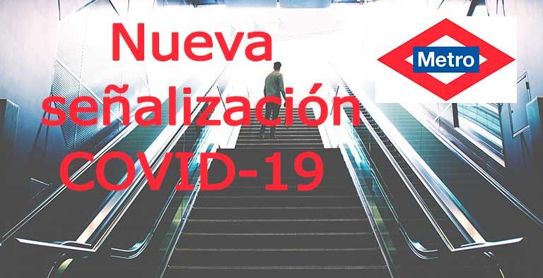 Nueva señalización en Metro de Madrid