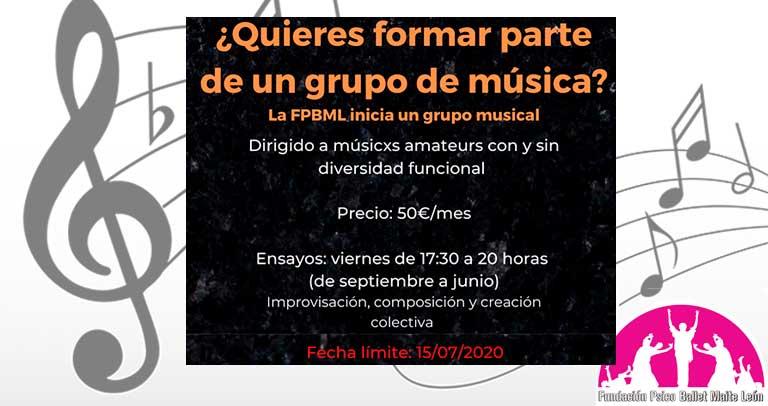 Psicoballet busca músicos para un grupo musical