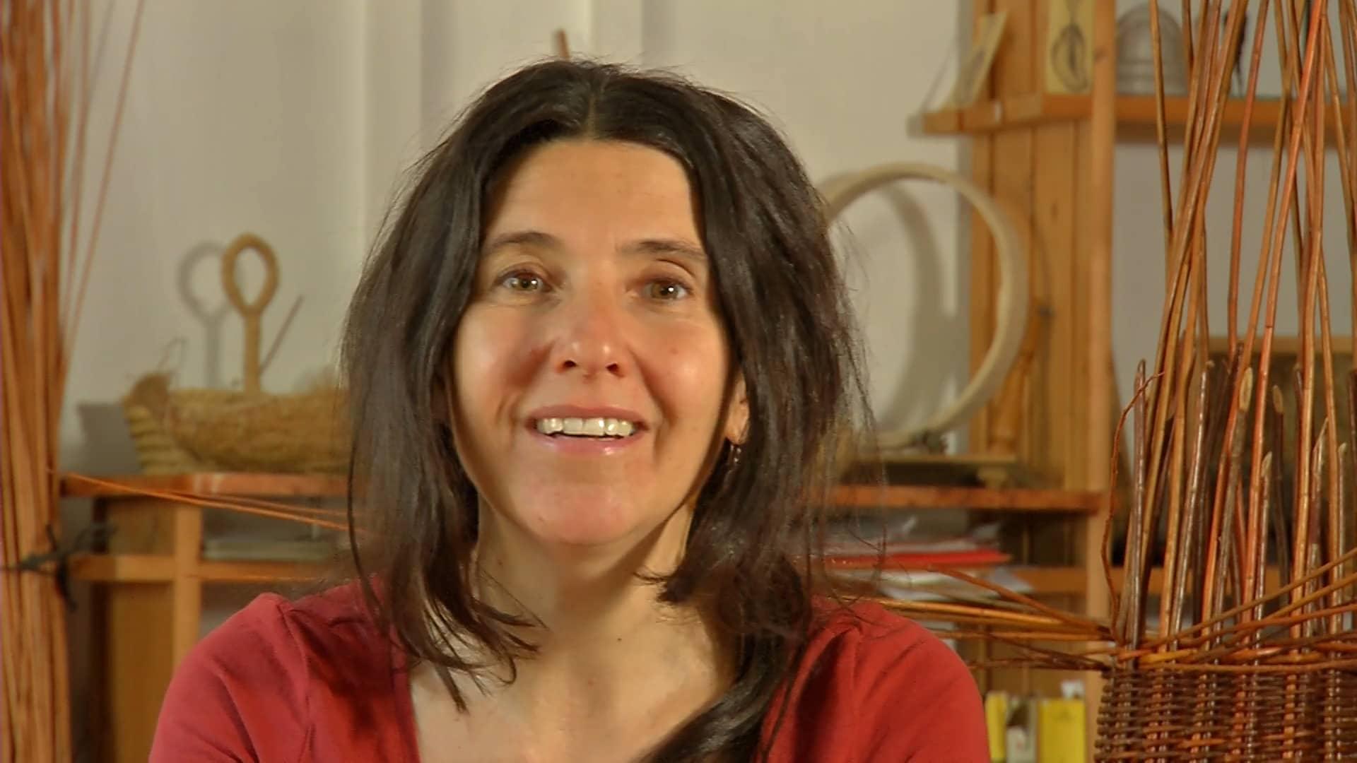 La artista Lucía Loren