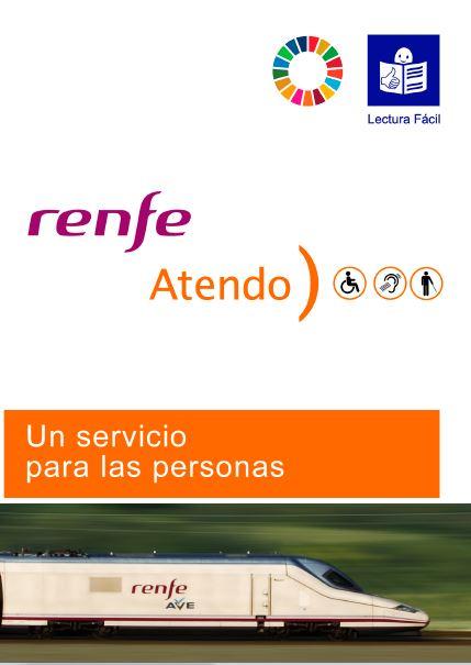 Servicio Atendo de Renfe. Guía en Lectura Fácil