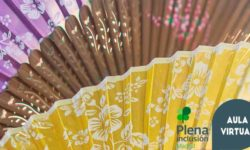 recurso formación. foto de abanicos de colores