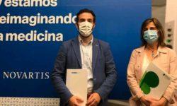 Plena Inclusión Madrid y Sandoz tras la firma del convenio