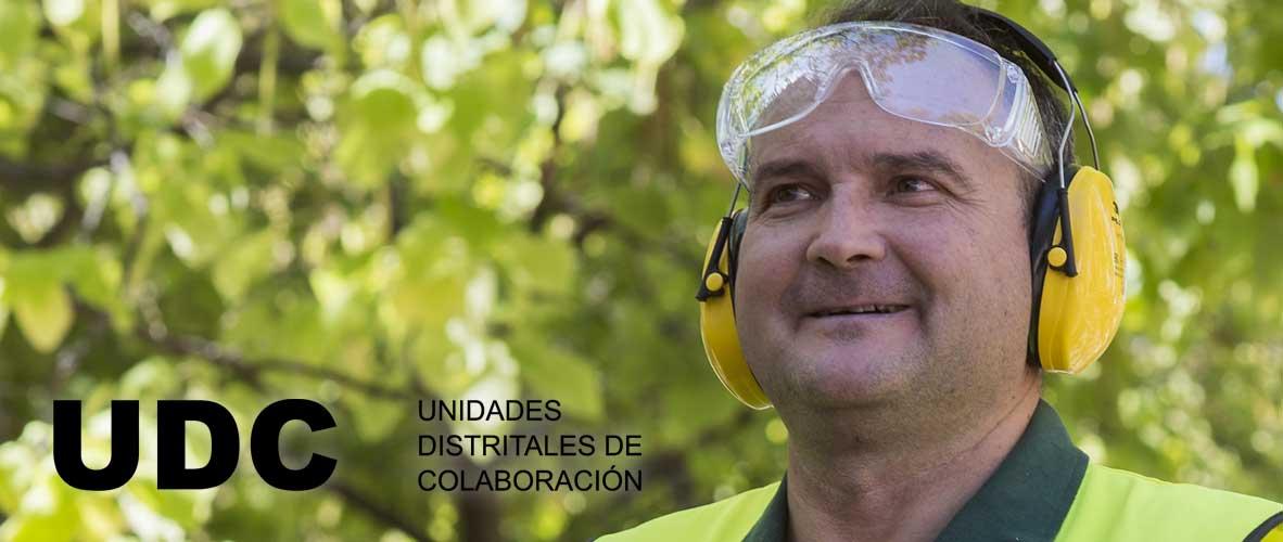 Trabajador de las Unidades Distritales de Colaboración