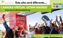 Cartel de la carrera Down Madrid 2020