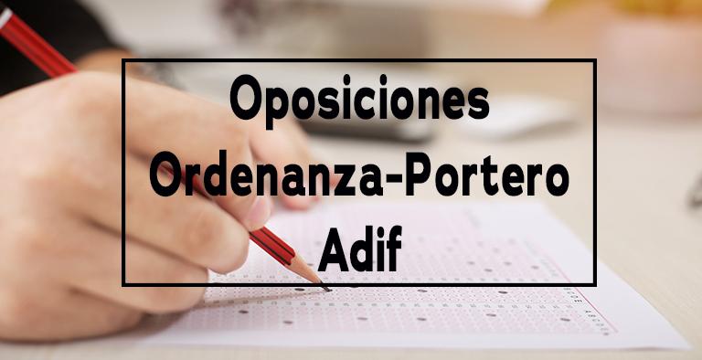 Oposiciones de Adif para personas con discapacidad intelectual