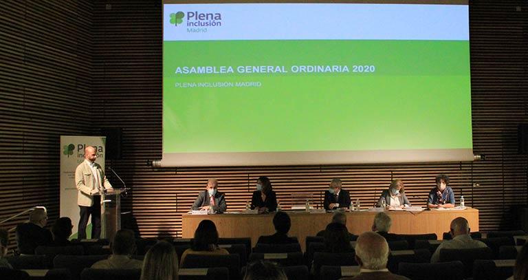 Imagen de la Asamblea General de Plena Inclusión Madrid