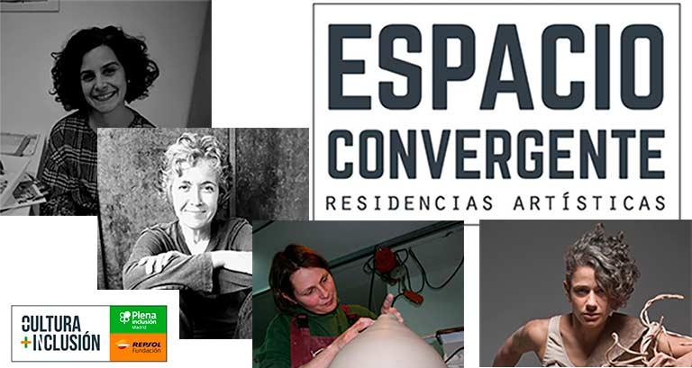 Artistas seleccionadas para Espacio Convergente 2020