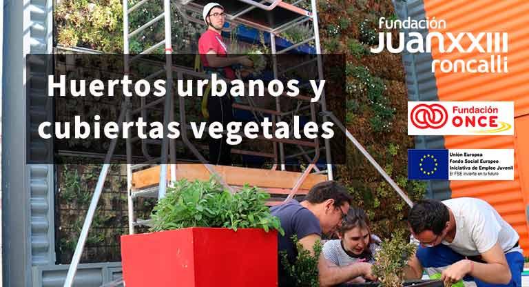 Curso de huerto urbano para personas con discapacidad intelectual