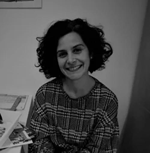 María Fabiana, una de las artistas de Espacio Convergente