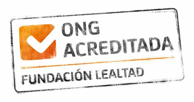 ong acreditada F. Lealtad