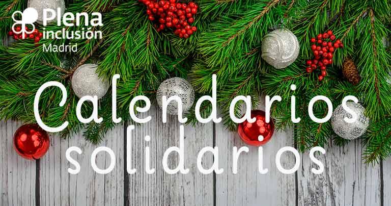 Calendarios solidarios Navidad 2021