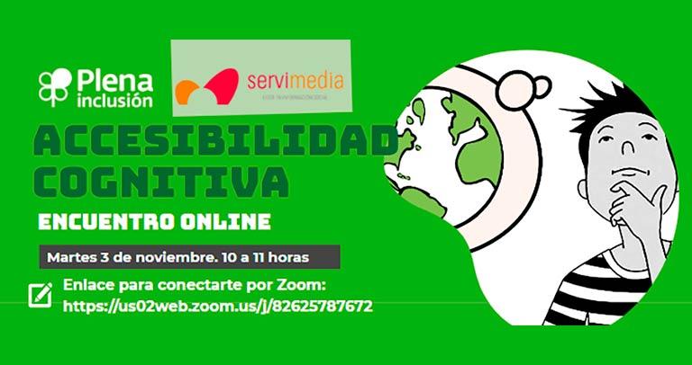 Encuentro online sobre accesibilida cognitiva