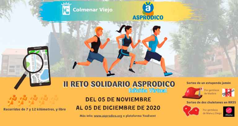 Reto Solidario Asprodico 2020